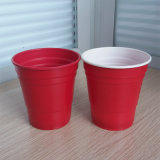 10oz 285ml Disposable PP Plastic Red Solo Party Cup