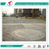 D400 Well Sealed Fiberglass Round Manhole Cover for Main Road
