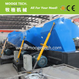 Industrial waste rigid plastic crusher / plastic crushing machine
