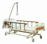 Luxurious Ultra Low Three Function Electric Hospital Bed
