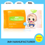 80PCS Nonwoven Tender Baby Wet Wipes OEM Manufacturer (BW010)