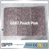 Peach Pink Granite Stone Tile/Slab for Floor and Wall
