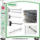 Metal Wall Hook Chrome Plating Wall Display Hook
