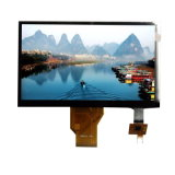 "High Brightness 7"" TFT Display Panel with Lvds Interface Capacitive Touch Panel"