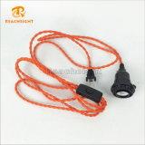 UL 2 Pin Plug Cord Set for Pendant Lamp