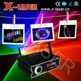 Christmas Decorative DJ Disco Stage Laser Beam Lights with Animation SD Card Disply (X-RGB710C)