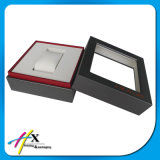 Handmade Wooden Lid Style Watch Jewelry Packaging Display Box