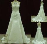 Chapel Train A-Line Bridal Wedding Dress