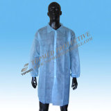 Nonwoven Disposable Lab Coat/Visitor Clothes/Unisex Lab Coats
