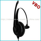 Hot Sale Monaural Call Center Telecommunication Headset Rj 9