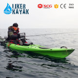 Top Profession Fishing Kayak with Trolley&Seat 2in1