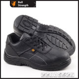 Steel Toe Cap&Steel Midsole Plate Leather Working Shoes Sn5113