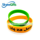 New Style Debossed Silicone Bracelet for Promotion Gift