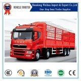 2 Axles Double Floor Fench Animal Transport Semi Trailer
