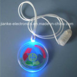 Flashing LED Christmas Light Necklace with Logo Print (2001)