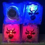 Christmas Party LED Binking Ice Cubes with Logo Print (3188)