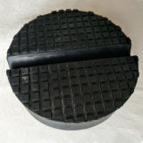 Saddle Rubber Pad Block with Small Slot for Car Trolley