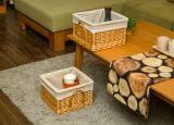 Handmade Wicker Storage Basket with Eco-Friendly (BC-ST1021)