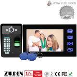 Fingerprint Video Door Phone with Super Slim Touch Screen