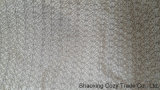Silver Rope Embroidery Fabric