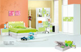 Colorful Built in Shining Lacquer Baby Furniture with Lovely Design (9928)