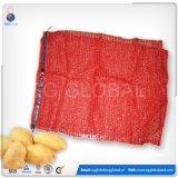 Packaging 30kg Onions Potato Mesh Net Bag