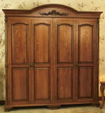 Wardrobes with Solid Wood Doors (YBW-4)