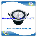 Yaye Top Sell 3W/5W/7W/9W/10W/15W COB LED Downlight/7W COB LED Ceiling Light with Warranty 2 Years