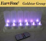 LED Flameless Pillar Candle/LED Tea Light Candle/Wedding Candle Light