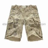 Printed 100% Cotton Khkai Men′s Shorts (GT21386211)