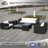 Well Furnir T-061 Fabulous Hand-Woven Garden Furniture Set