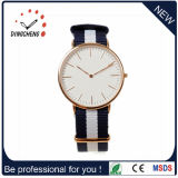 2017 Custom Logo Fashion DW Style Alloy Watch with Nylon Band (DC-810)