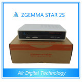 Zgemma Star 2s Twin Tuner Satellite HD Receiver DVB-S2+S2 Watch and Recording Same Time Availble Hot Sale Zgemma-Star