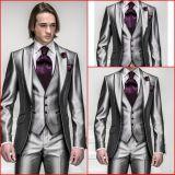 Custom Made Men Suits Formal Groom Tuxedo for 4 Pieces-Coat+Pants+Vest+Necktie Wedding Evening Man Suit M-I-C (3)