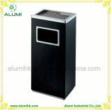 Hotel Indoor Rectangle Stainless Steel Ashtray Bin