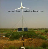 1.4kw Small Wind Generator Turbine with Solar Panels with Ce and ISO