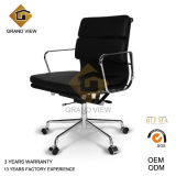 Red Leather Design Hotel Furniture Meeting Chair (GV-EA217)