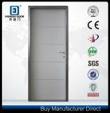 Decorative Aluminum Strips Interior Door with Optional Door Skin Color