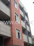 Fiber Cement Board--BS En12467: 2012 Curtain Wall (Color-Though Cladding)