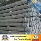 Construction Material Galvanized Steel Pipe Threaded and Plain Head