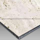 White Travertine Aluminium Honey Comb Compound Panel
