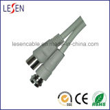 TV Cable Female Screw to Male Plug