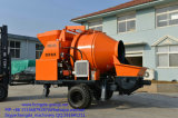 Trailer Type Concrete Mixing Pumps
