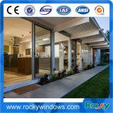 Commercial System Double Glass Aluminum Sliding Door