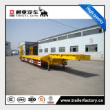 3 Axles Low Bed Semi Trailer for Machina Transportation