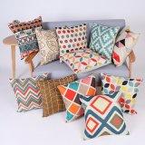 Digital Print Decorative Cushion/Pillow with Geometric Pattern (MX-61)