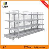 Back Net Gondola Supermarket Shelving/Supermarket Display Stand Shelf