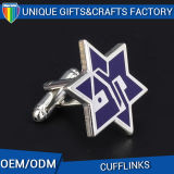Metal Star Shape Blue Cuff Link From Wholesale Maker