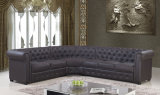 Italian European Modern Classical Hotel Office Leather Sofa