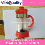 Glass Coffee Maker Quality Control Inspection Service in Zhejiang